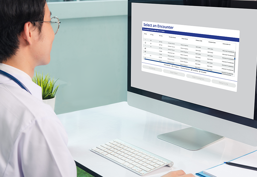 5thPort's eConsent software provider dashboard delivers a quick snapshot of the patient engagement process and tracks every change and patient encounter.